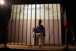 Paulo na prisão escere as suas cartas